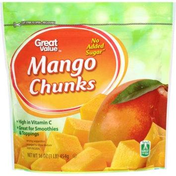 Great Value Mango Chunks, 16 oz