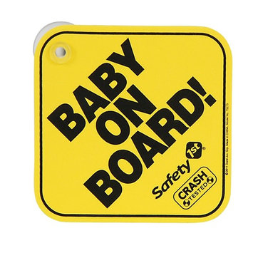 Safety 1st Foam Baby On Board and Mom-To-Be Sign Board