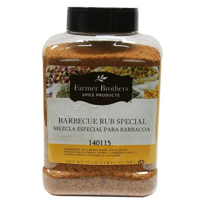 Farmer Brothers Barbecue Rub Special, 1 bottle (1 lb 11 oz)