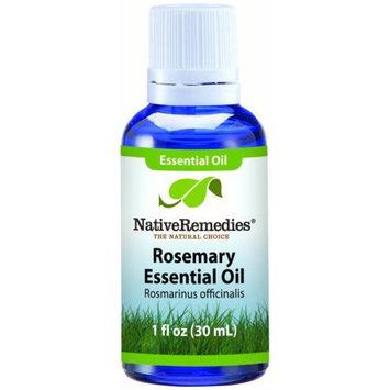 Aswechange NativeRemedies Rosemary Leaf Essential Oil 30mL, 30 mL