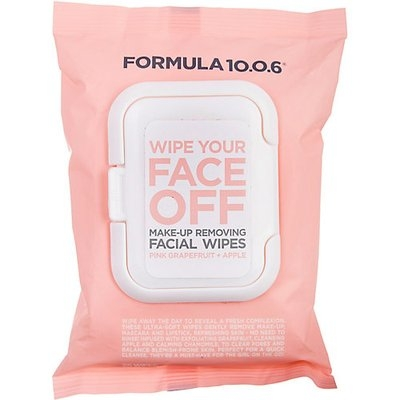 Formula 10.0.6 Wipe Your Face Off Make-Up Removing Facial Wipes