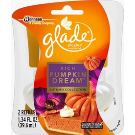Glade Rich Pumpkin Dream Scented Oil Refill
