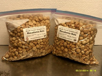 Island Valley Delights 10 lb. Roasted Macadamia Nuts, unsalted