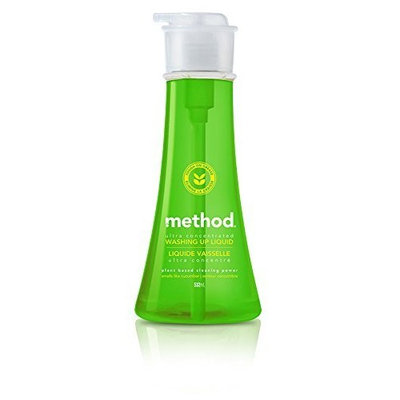 Method Dish Soap, Cucumber, 18 Ounce (Pack 6)