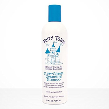 Fairy Tales Super Charge Detangling Shampoo 12 - oz with a FREE Leave In Conditioning Spray Rosemary Repel Conditioning Spray 2 Oz