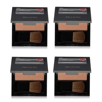 Revlon Powder Blush #002 Dare To Bare (Pack of 4) + FREE Makeup Blender