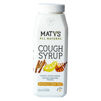 Maty's Healthy Products, Llc Maty's All Natural Cough Syrup, 6 fl. Oz.
