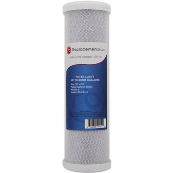 ReplacementBrand Comparable Filter for the Pentek EP-10, DuPont WFDWC30001 (5 Micron 10