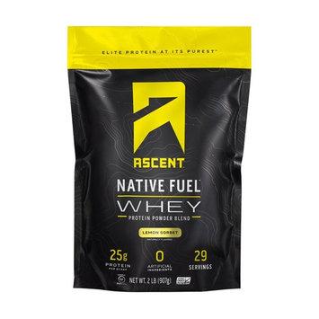 Native Fuel Whey Protein Powder Blend Lemon Sorbet - 2 lbs.
