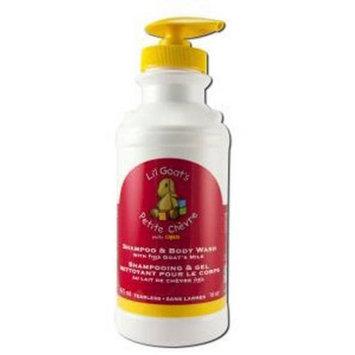 Canus Li'l Goats Milk Baby Care Shampoo/Wash 1, 16 oz