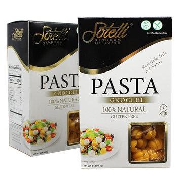 Gluten-Free Gnocchi Corn Pasta, Kosher for Passover, GMO Free, Certified Gluten Free, 100% Natural, By Sotelli