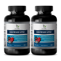 Digestive pills for men - BLOOD PRESSURE SUPPORT - Metabolism booster and energy booster - 2 Bottles 120 Capsules