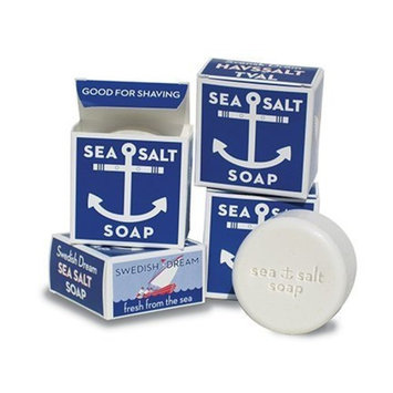 Swedish Dream Sea Salt Invigorating Bath Soap - Pack of 12, 4.3 oz Bars
