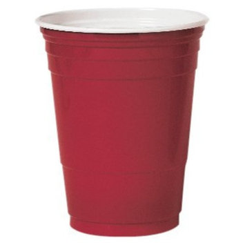 Dart P16R 16 oz Coex Str Wall PS Party Cup Red (Case of 1000)