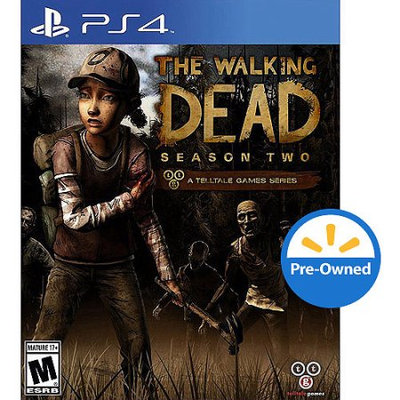 The Walking Dead Season Two PRE-Owned (PlayStation 4)