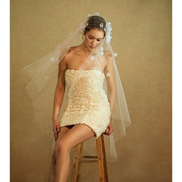 Exquisite Selebrity Bridal Wedding Veil with Comb