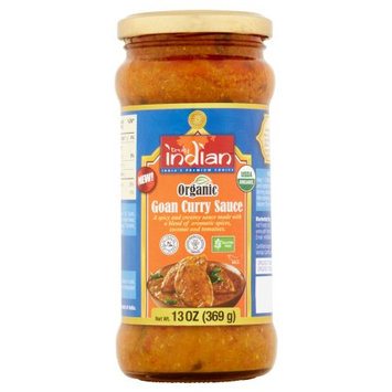 Zbi Inc. Truly Indian, Sauce Goan Curry, 13 Oz (Pack Of 6)