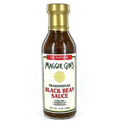 Maggie Gin 35305 Traditional Black Bean - Pack of 6