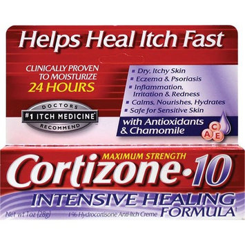 Cortizone-10 Intensive Healing Formula Anti-Itch Creme 1 oz Each