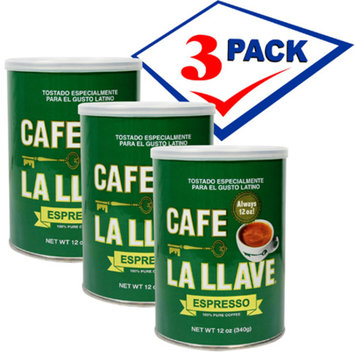 Caf? La Llave 10 oz can Pack of 3