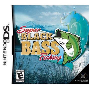 Super Black Bass Fishing Nintendo DS Game MAJESCO