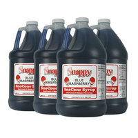 Blue Raspberry Snappy Snow Cone Syrup (4-1 Gallon)