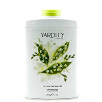 Yardley of London Lily of the Valley Perfumed Talc, 7 Oz, Made in England - NEW FORMULA [Lily of the Valley]
