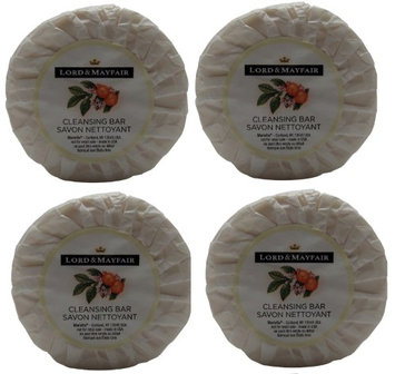 Lord and Mayfair Cleansing Bar Soap Lot of 1.75oz Bars. (Pack of 4)