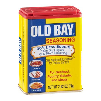 McCormick Old Bay Old Bay 30% Less Sodium, 2.62 OZ (Pack of 2)