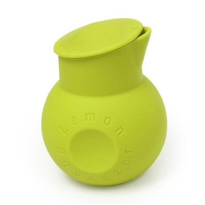 Supreme Housewares 72814 Silicone Lemon Squeezer Green - Pack of 72