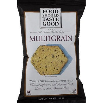 Food Should Taste Good Multigrain Tortilla Chips 5.5 oz. (Pack of 12)