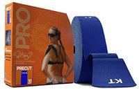 KT Tape 10 in. Pro Precut English Sports Jumbo Tape Roll Sonic Blue