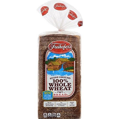 Freihofer, Country 100% Whole Wheat Bread, 24 oz
