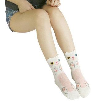 Hot Sale!Todaies Cute Socks Lovely Cartoon Animal Zoo Women Socks Ladies Girls Cotton Warm Soft Sox
