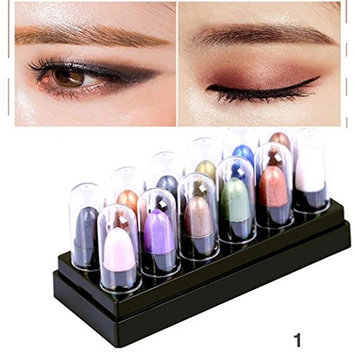 Lookatool 12 Colors Renaissance Eye Shadow Makeup Cosmetic Shimmer Matte Eyeshadow Palette