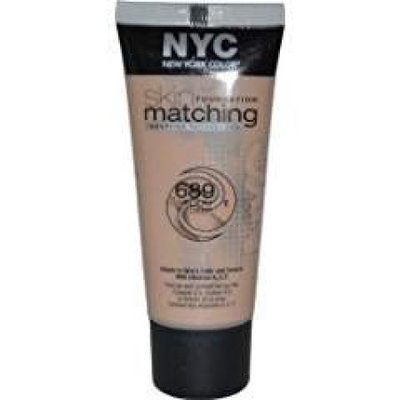 New York Color Skin Matching Foundation 689 Medium to Deep 1 fl oz Natural