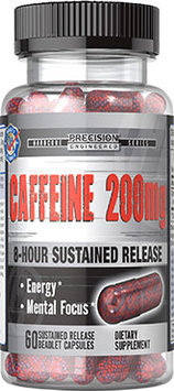 Precision Engineered Timed Release Caffeine 200 Mg