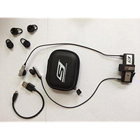 Skechers Sketcher SKCW-5000-SIL Bluetooth Wireless Run-Free Ear Buds - Silver