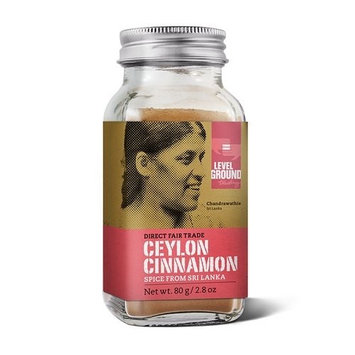 Organic Direct Fair Trade Ceylon Cinnamon Spice from Sri Lanka 2.9oz (80g)