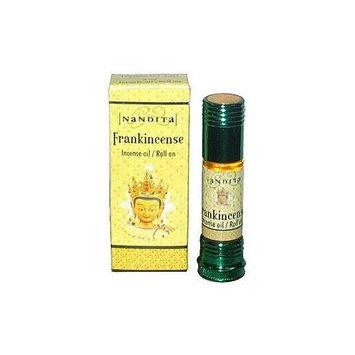 Frankincense - Nandita Incense Oil/Roll On - 1/4 Ounce Bottle