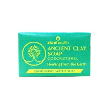 Ancient Clay Soap Coconut Shea Zion Health 6 oz Bar Soap