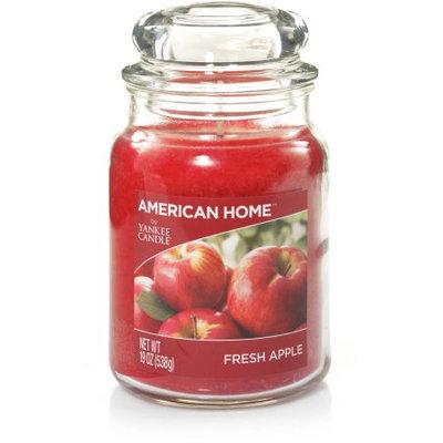 American Home by Yankee Candle Fresh Apple, 19 oz Large Jar