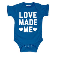 Love Made Me Cute Loving Baby Novelty-Baby One Piece