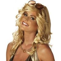 Blonde Discorama Mama Wig Adult Halloween Accessory