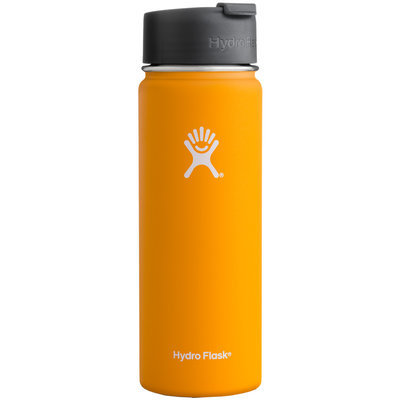 Hydro Flask 20oz Wide Mouth Vacuum Insulated Stainless Steel Water Bottle w/ Hydro Flip Cap