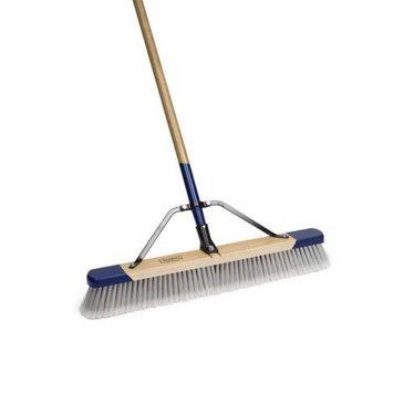 Harper Brush Works Inc 18in. Fine Split-Tip Synthetic Fibers Push Broom 552218A