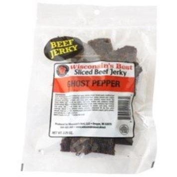 REAL Beef Jerky, WISCONSIN'S BEST (Ghost Pepper Beef Jerky)