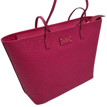 Kate Spade Penn Place Embossed Margareta Large Tote Bag