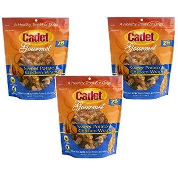 IMS 07205 Cadet Sweet Potato and Chicken Wraps Dog Treat - 28 oz.
