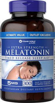 Vitamin World Extra Strength Melatonin Time Release Sleep Aid